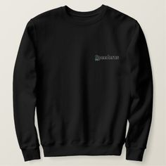 Shop XO black sweatshirt created by XOstreetwear. Personalize it with photos & text or purchase as is! Embroidered Sweatshirts, Summer Of Love, Crew Neck Sweatshirt, Fitness Models, Casual, Mens Tops, How To Wear, Summer Gifts, Black Outfits