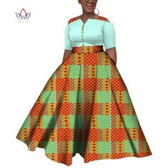 2019 African Dresses For Women  Dashiki  African Dresses For  Women Colorful Daily Wedding Size S-6XL  Ankle-Length Dress WY3853