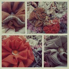 "Hair and clothing accessory by Unikatni ručno rađeni ukrasi ""La petite fleur (Tempting accessories)"""