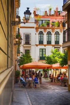 Sevilla, casco antiguo Spain #studyabroad