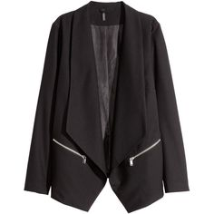 Jacket with a shawl collar $34.99 ($35) ❤ liked on Polyvore featuring outerwear and jackets