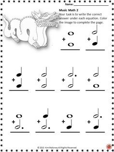 Music Math with a Chinese New Year Theme!  24 music worksheets aimed at reinforcing students' understanding and knowledge of note and rest values.     #musiceducation     #musedchat