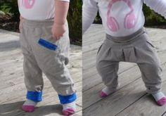 Spielhose, Jogginghose, Hose, weite, bequeme Hose Version für Mädchen und Jungs 74-116