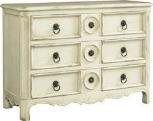 Louis XIV Painted Chest - Baker The Milling Road Collection.  Choice of worn finishes.