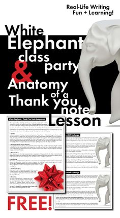 Who says h.s. kids can't have holiday parties? Link your party to these Common Core writing standards and everyone's happy! FREE lesson!