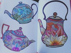 Claire Cater - The Can't Sleep Colouring Book - by Luzavilla75