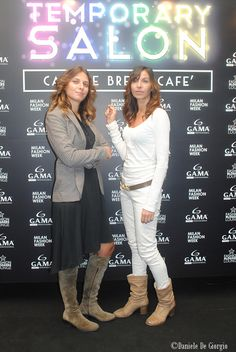 22/09/2013 GAMA Temporary Salon at Milan Fashion Week! #mfw #milanofashionweek #gama #gamaitalia #capelli #hair #gamaprofessional