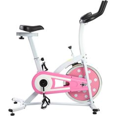 Sunny Health and Fitness P8100 Pink Indoor Cyling Bike for Sale