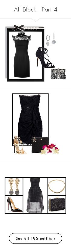 """""""All Black - Part 4"""" by miriam83 ❤ liked on Polyvore featuring Sia, Assouline Publishing, Raynaud, Chanel, Torre & Tagus, Swarovski, Lalique, Nearly Natural, Universal Lighting and Decor and WALL"""