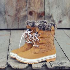 The Snowy Pines Snow Boots, Rugged Fall & Winter Boots from Spool No.72 | Spool No.72