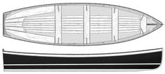 17' Whitehall - traditional rowing craft-boatdesign