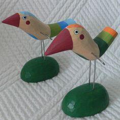 Ptáček stojící