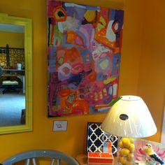 Reagan Geschardt abstract art at f.Gerald new