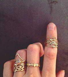 แหวนสามเหลี่ยม