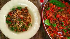 Piers Morgan's Spaghetti Morgan-ese (Bolognese) Recipe.