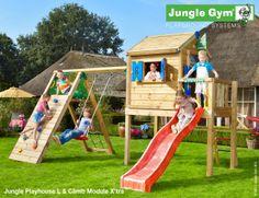 Outdoor playhouse - Jungle Playhouse L