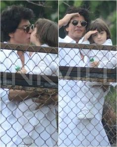 These Pictures of SRK-AbRam Posing and Kissing Will Be The Best Thing You See…