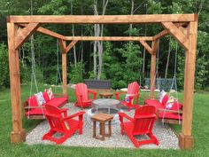 """Figure out more information on """"fire pit backyard ideas"""". Look into our web site. : Figure out more information on """"fire pit backyard ideas"""". Look into our web site. Backyard Seating, Backyard Patio Designs, Fire Pit Backyard, Backyard Projects, Backyard Landscaping, Fire Pit Pergola, Fire Pit Swings, Diy Projects, Fire Pit Ideas With Swings"""