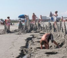 """WILDWOOD - We called them """"drippy castles"""" when were were young- what did you call them?"""