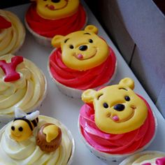 winnie the pooh cupcakes - Buscar con Google