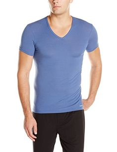 Calvin Klein Men's Body Modal Short Sleeve V-Neck T-Shirt: Extremely-mushy modal stretch t-shirt Product Options Calvin Klein emblem hem tag Tag much less Expensive hand really feel http://rolfjoho.me/t-shirt/calvin-klein-mens-body-modal-short-sleeve-v-neck-t-shirt/