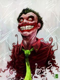Joker smile's by ~rangverse