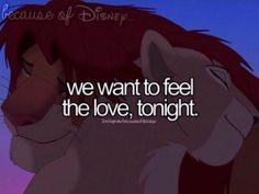 #love   Lion King