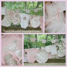AWESOME do it yourself baby shower gift ideas!This blog is fantastic