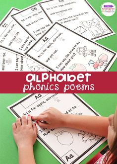 These alphabet phonics worksheets are a great resource for your kindergarten classroom to help kids learn beginning sounds and identify letters. This is a great resource for alphabet phonic activities for kindergarten learners! #phonics #alphabetactivities #worksheets #kindergartentteachers Alphabet Activities Kindergarten, Alphabet Phonics, Teaching The Alphabet, Phonics Worksheets, Phonics Activities, Kindergarten Classroom, Writing Activities, Upper And Lowercase Letters, Letter Recognition