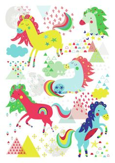 Gina Lorena Maldonado - Unicorns Print - GM-01
