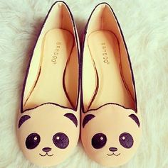 There is 1 tip to buy shoes, panda, flats, bamboo. Sock Shoes, Shoe Boots, Shoes Heels, Pumps, Flat Shoes, Shoe Shoe, Louboutin Shoes, Crazy Shoes, Me Too Shoes