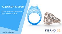 3D Jewelry Models! Design Conceptual Design of Your Jewelry Products from All Angles.   #3DJewelry #3DModels #Followme #3DTechnology #3DPrinting #Fibrox3D