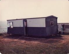 Van at Woolacombe Bay Woolacombe Bay, Caravan Holiday, Vintage Caravans, Classic Trucks, Great Memories, Back In The Day, Campsite, Recreational Vehicles, Retro Vintage