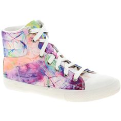 Aldo Bruder Print High Top Trainers ($43) ❤ liked on Polyvore