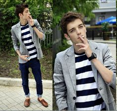 I would wear this (minus the cigarette)