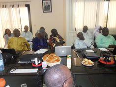 Le 10 Octobre 2014 : Participants à la réunion du SEN Elargi.