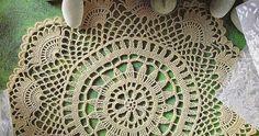Scheme crochet no. Crochet Trim, Crochet Motif, Crochet Doilies, Free Crochet, Tenerife, Crochet Placemats, Floral Curtains, Floral Border, Lace Patterns