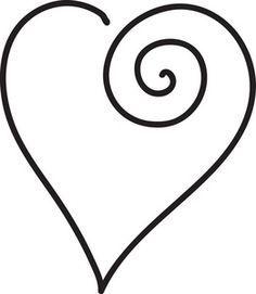 clip art black and white heart clipart image black and white rh pinterest com black and white heart clip art free heart images clip art black and white