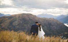 Queenstown Celebrant - Queenstown heli-wedding at Cecil Peak with Mountain Weddings