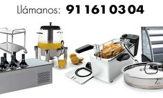 #MaquinariadeCocina #mobiliario #menaje y todo lo necesario para tu negocio de #hostelería. Escríbenos a contacto@hosteleria10.com