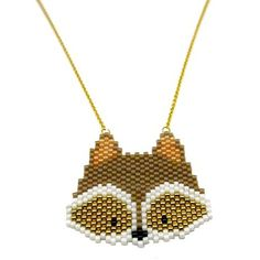 Raccoon taupe doré est dispo sur le site! Www.fifijolipois.com #raccoon #kitraccoon #kitbijou #kitfifijolipois #diy #peyote #miyukiaddict #tissagepeyote #miyuki