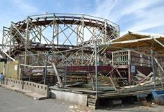 In photos: Abandoned roller coasters