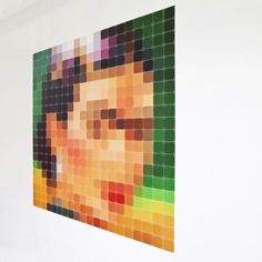 Pixel wanddecoratie Ixxi frida kahlo | Musthaves verzendt gratis
