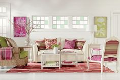 Love this more contemporary spin on my favorite home decor colors!