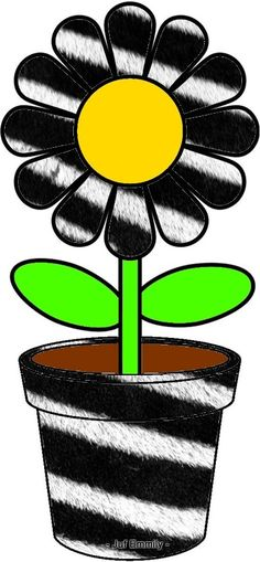 Cartoon Flowers, Fathers Day Crafts, Plantation, Fruit Of The Loom, Art Activities, Spring Crafts, Spring Time, Flower Power, Free Printables