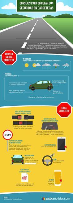 Consejos de seguridad en carreteras
