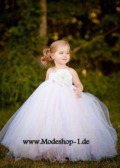 Weisses Tütü Mädchenkleid