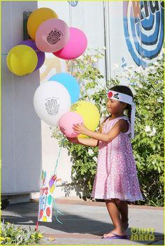 Halle Berry  Olivier Martinez: Karate Birthday Party with Nahla!