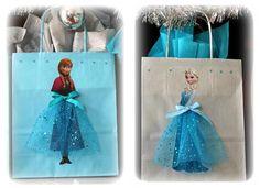 Bolsitas de cumpleaños de Frozen 2