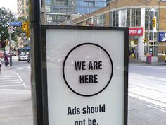 Taking Back the Streets: Info-Pillars Hacked By Urban Activists In Toronto